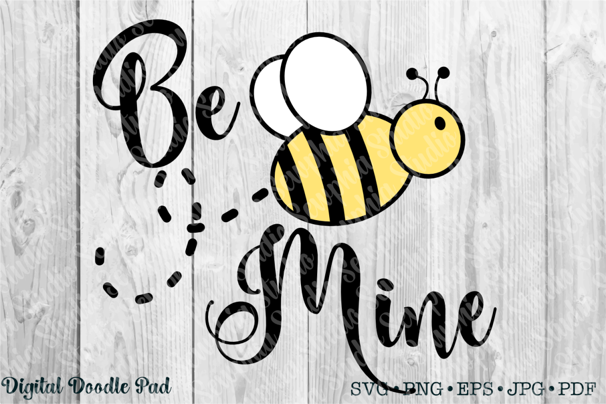 Be Mine by Digital Doodle Pad example image 1