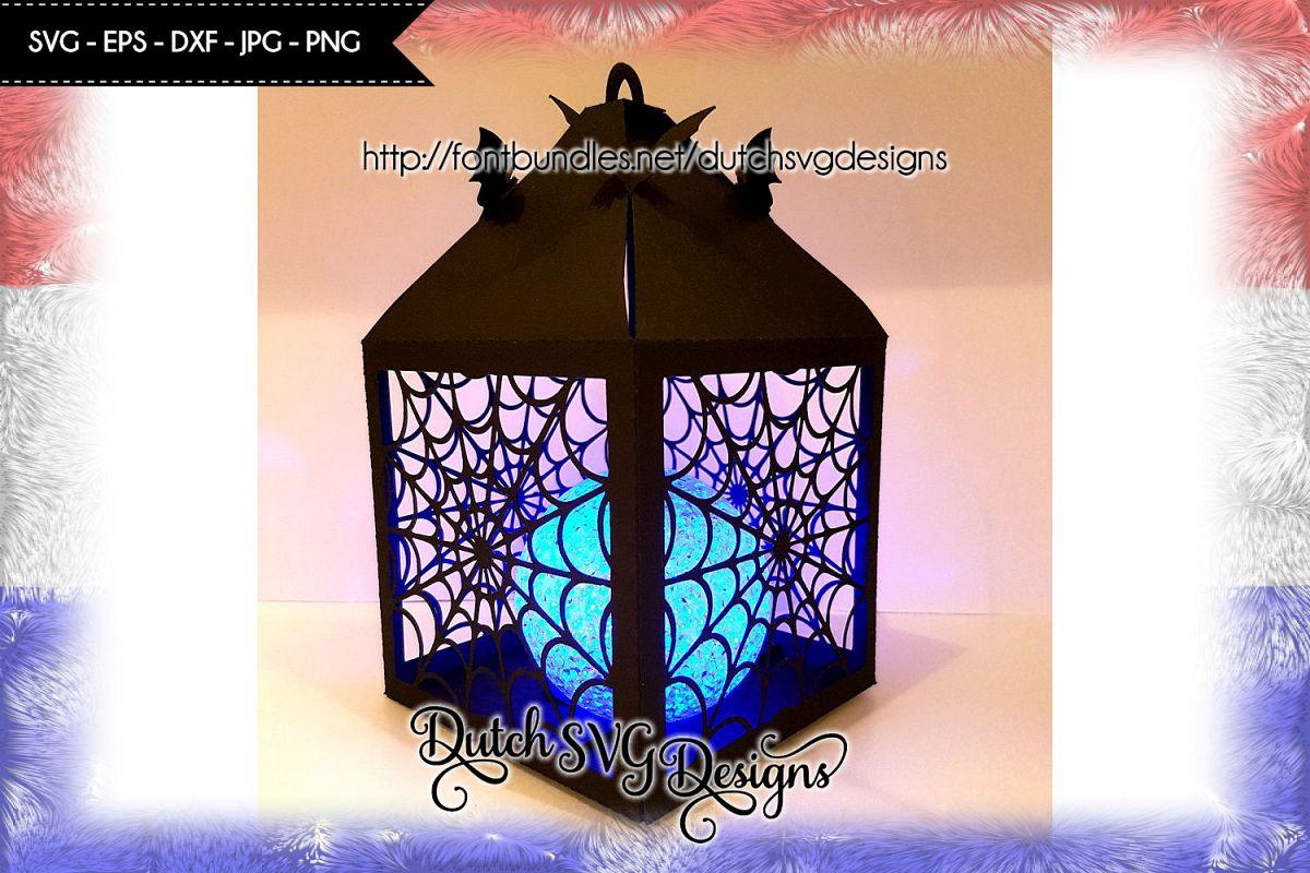 Halloween lantern cut file, halloween lantern svg example image 1