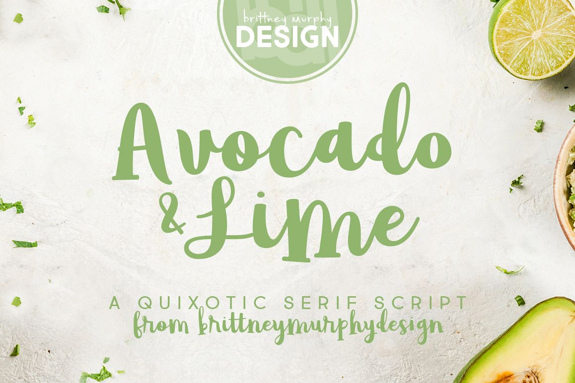 Avocado & Lime example image 1