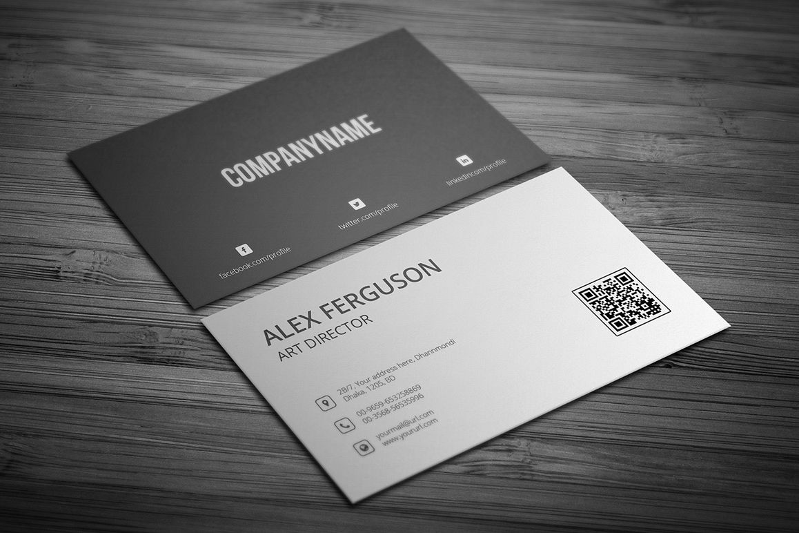 minimal business card example image 1 - Minimal Business Card