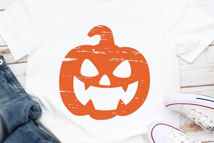 Pumpkin Svg, Halloween Svg, Halloween Tshirt, Grunge Svg example image 1