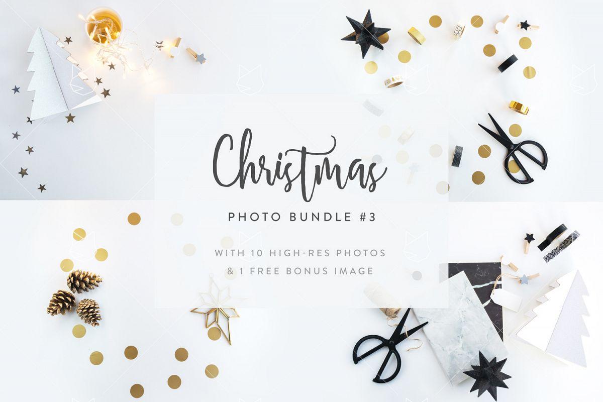 Christmas Photo Bundle #3 with FREE BONUS example image 1
