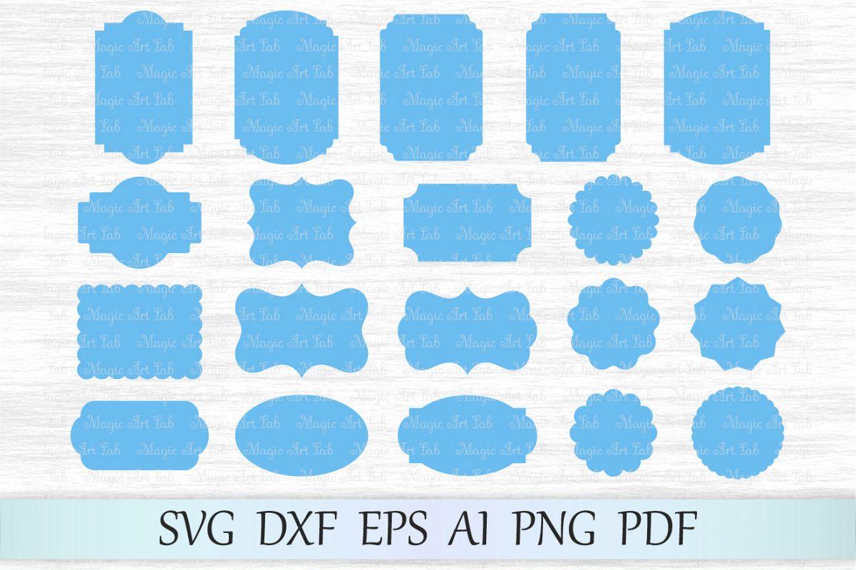 Frames svg, Label svg, Vintage frames svg file, Frames vector, Retro ...