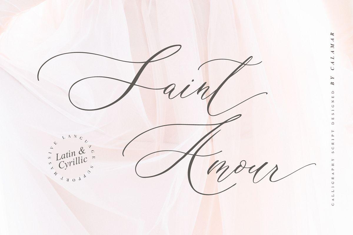 Saint Amour Script example image 1