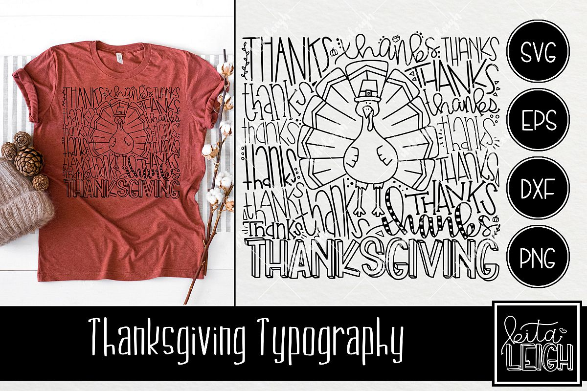 Thanksgiving Typography example image 1