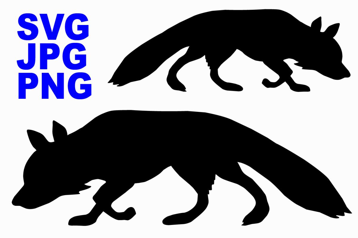 Wild Fox - SVGPNGJPG
