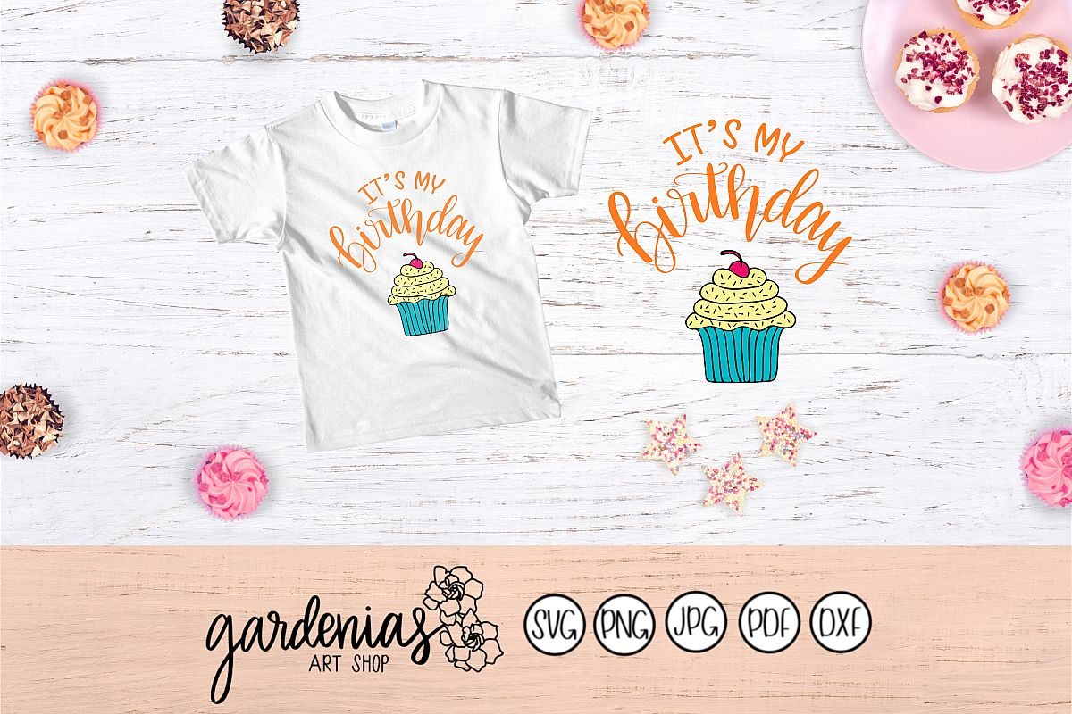 It's My Birthday with Cupcake example image 1
