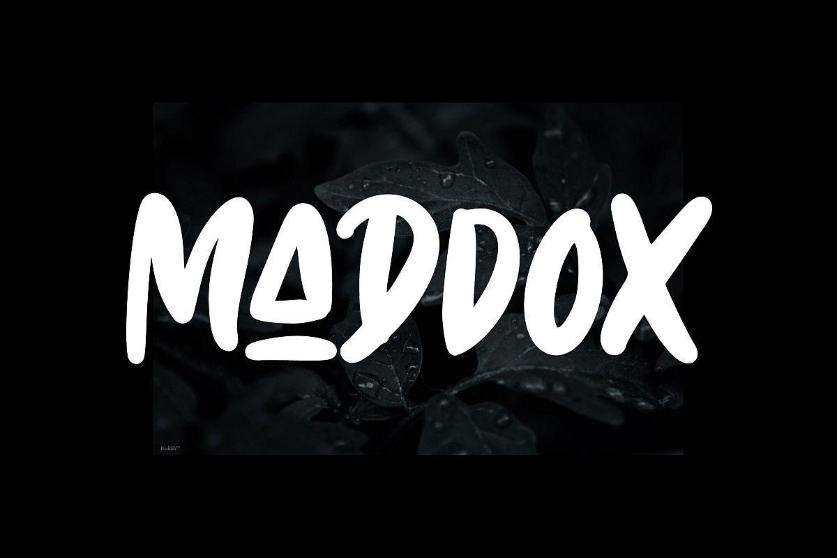 Maddox - Caps Font example image 1