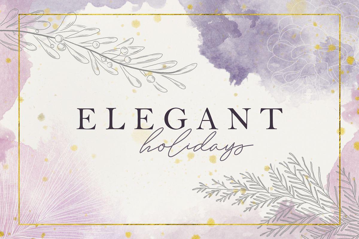 Elegant Holidays example image 1