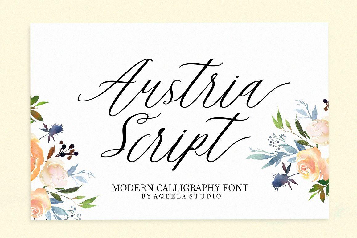 Austria Script example image 1