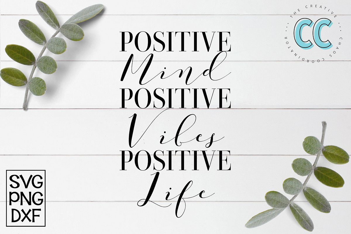 Positive Vibes example image 1