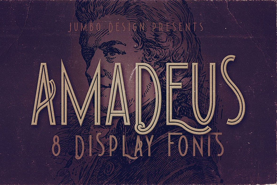 Amadeus - Display Font example image 1