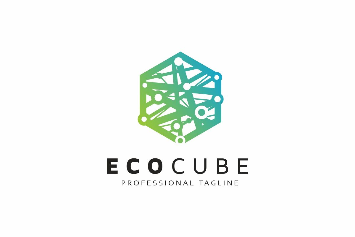 Eco Hexagon Logo example image 1