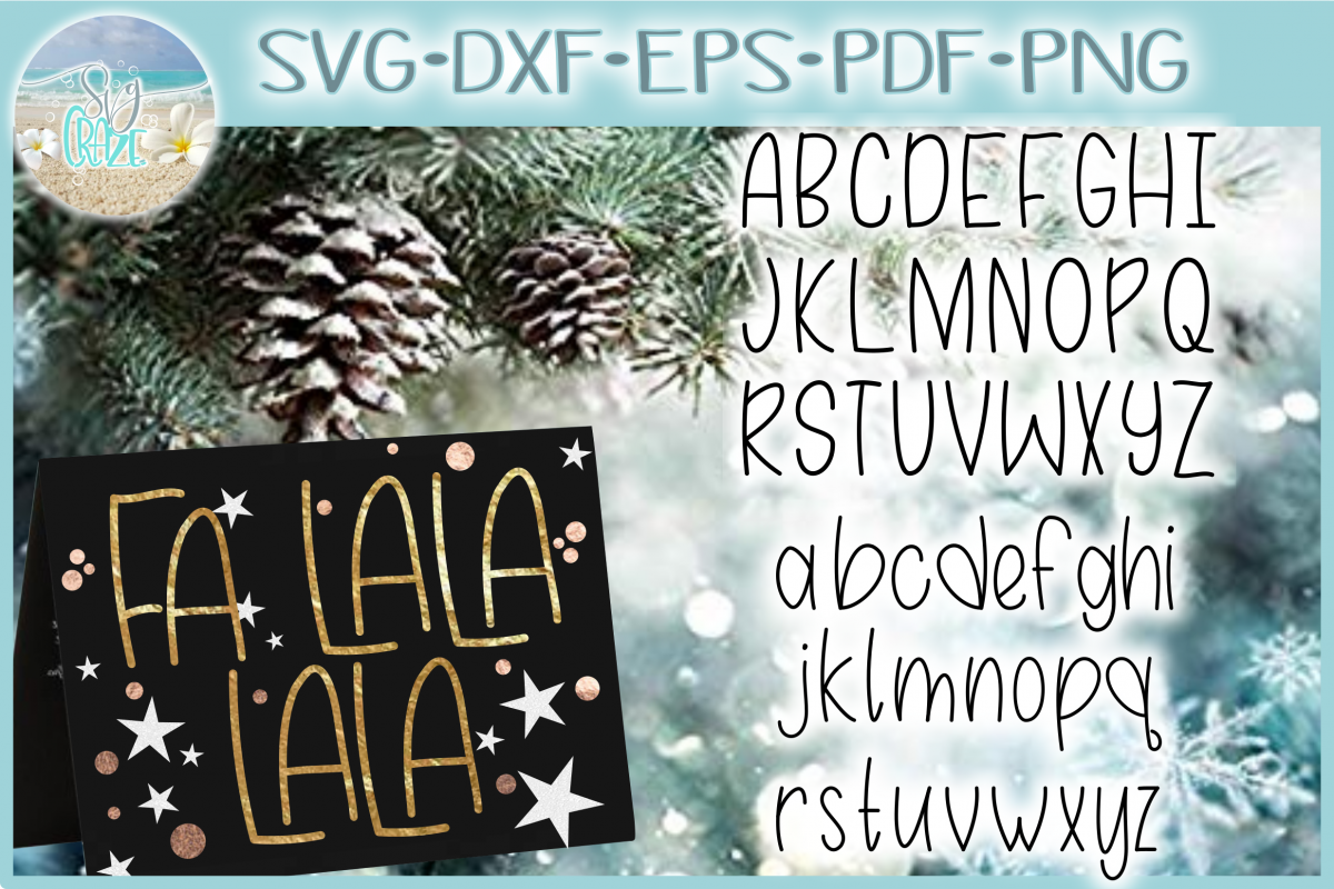 Hand Lettered Alphabet - Foil Quill Single Line SVG example image 1