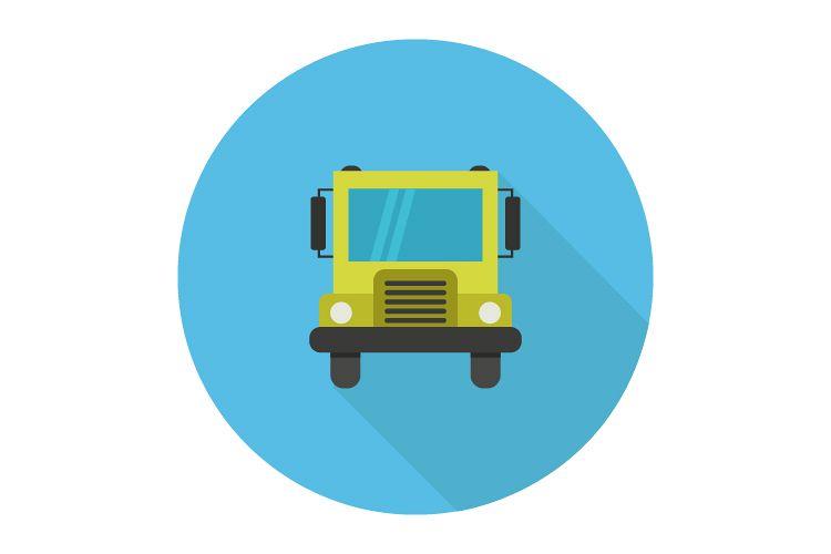 school bus icon example image 1