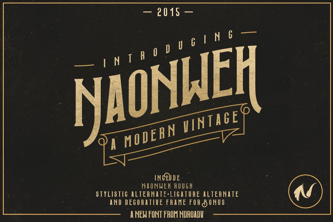 Naonweh Typeface example image 1