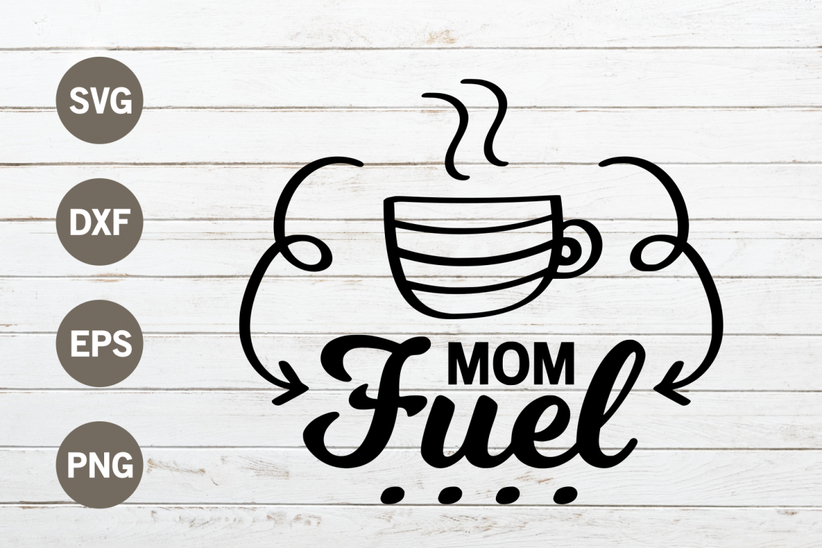 Mom fuel SVG example image 1