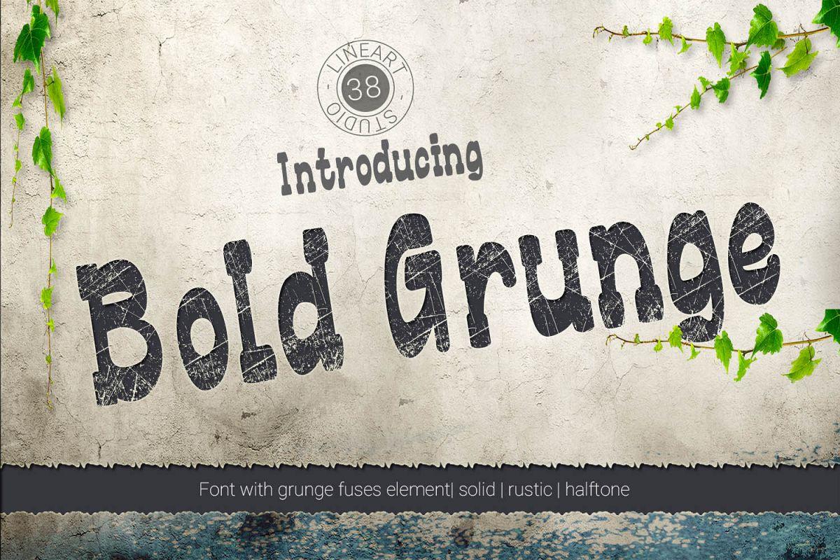 Bold Grunge example image 1