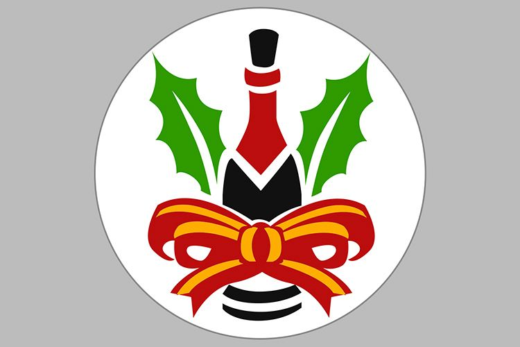 wine cristmas example image 1