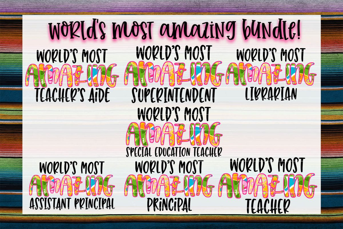 World's Most Amazing Education Bundle! example image 1