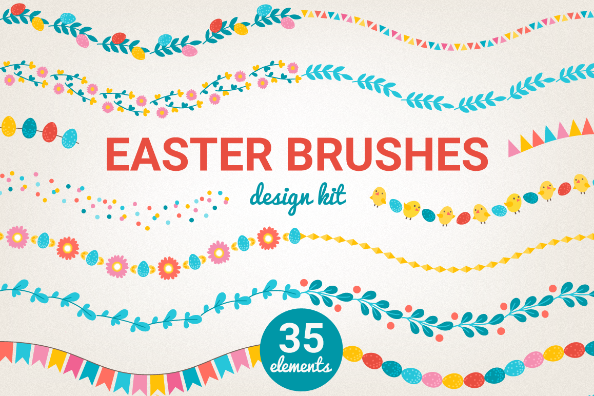 Easter Brushes example image 1