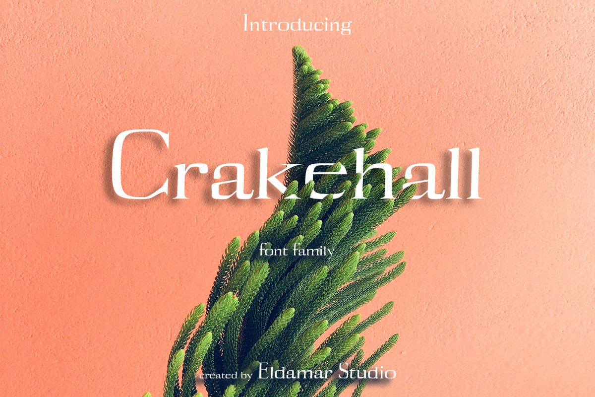 Crakehall Font example image 1