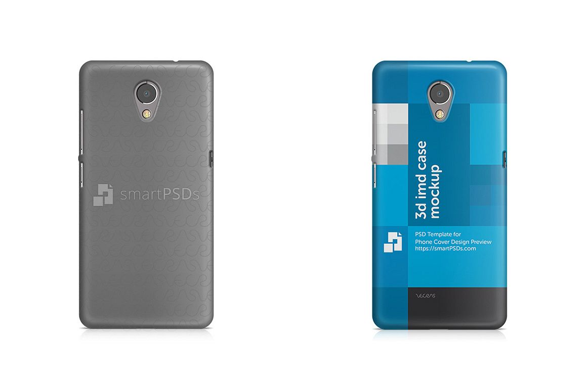 Lenovo P2 3d IMD Mobile Case Design Mockup 2016 example image 1