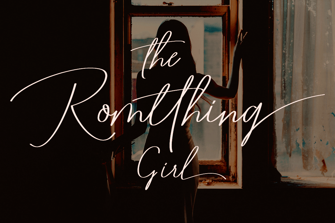 Romtthing Girl - Signature Stylish example image 1