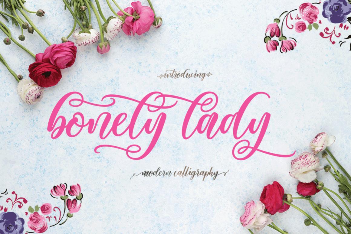 Bonety Lady example image 1