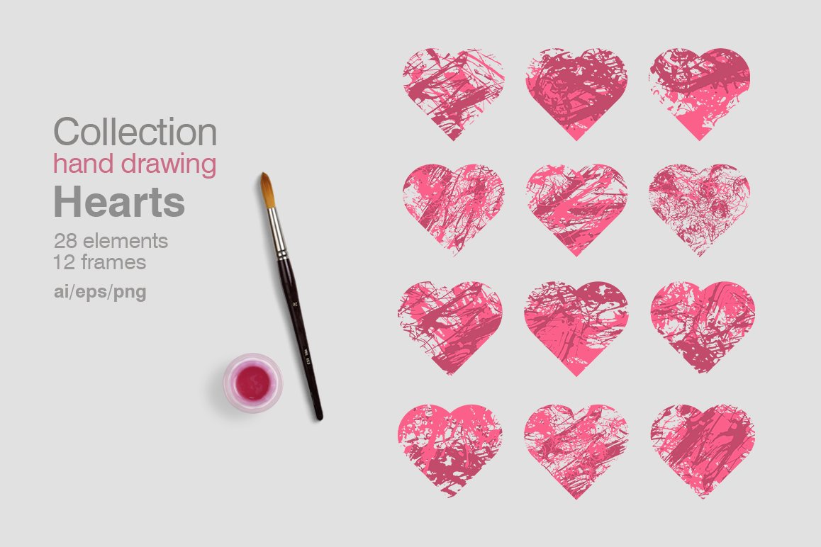 Collection Hearts example image 1