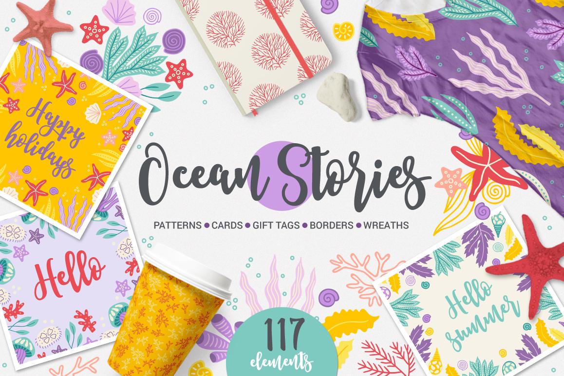 Ocean Stories Kit example image 1