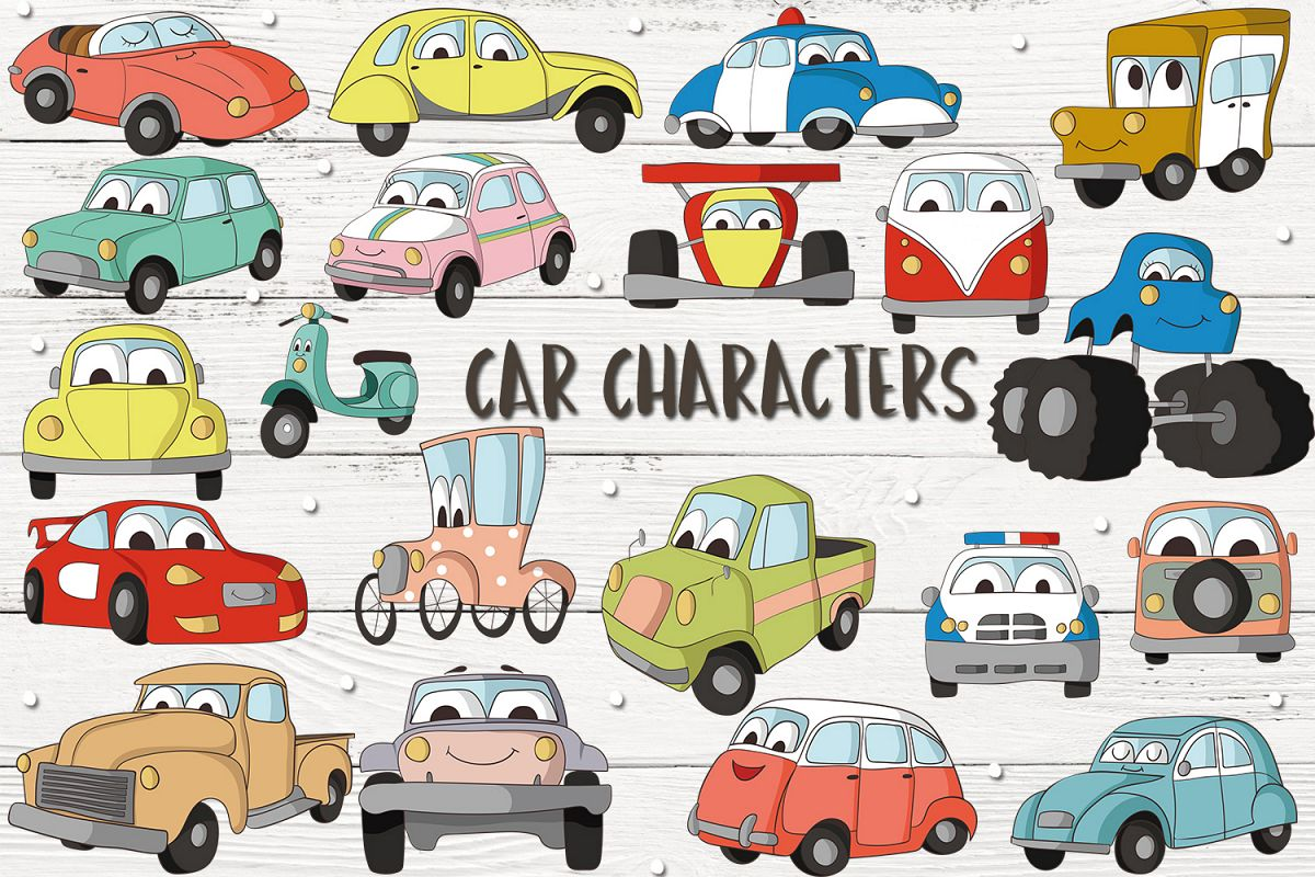Car Characters example image 1