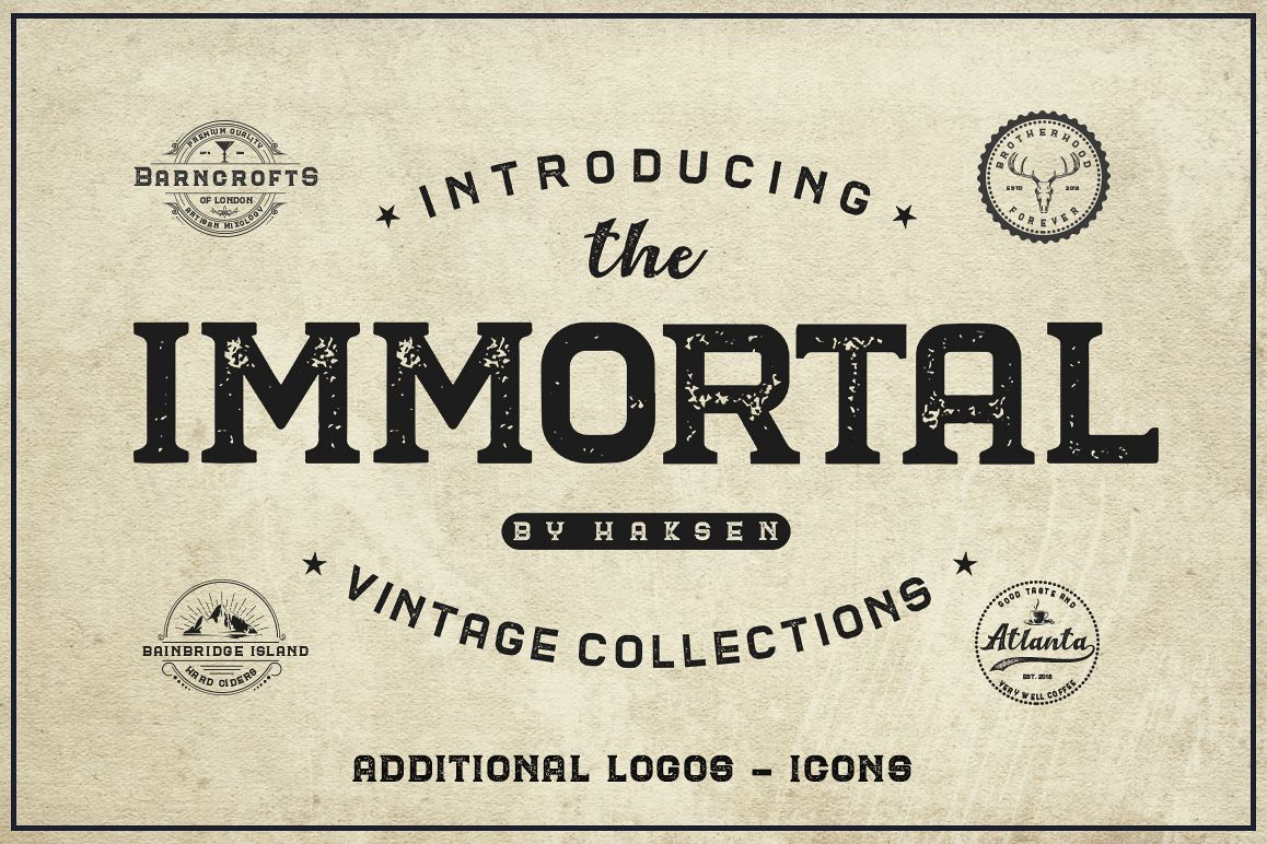 The Immortal // Vintage Collection example image 1