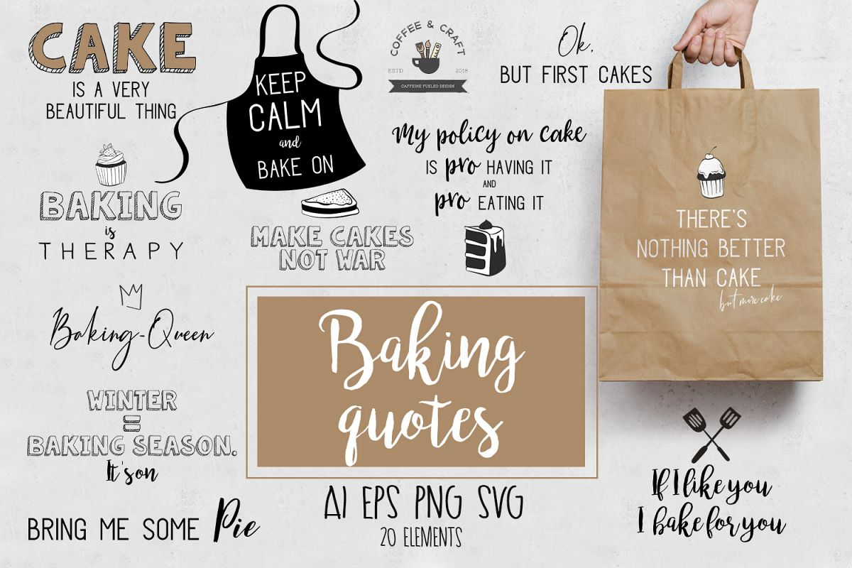 Baking quotes example image 1