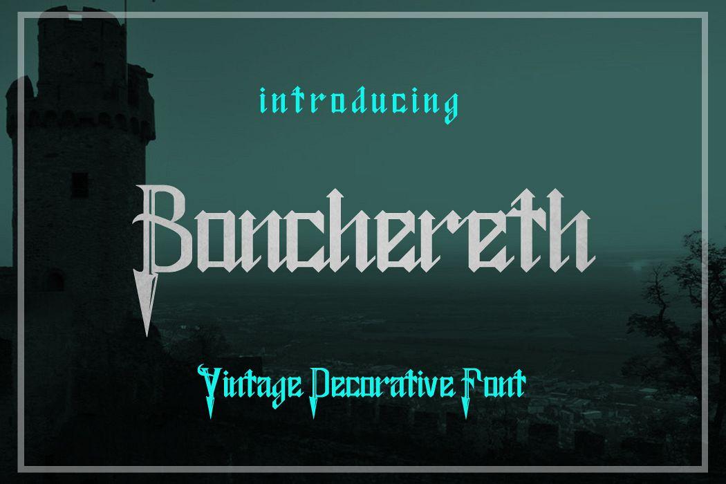 Bonchereth Font example image 1
