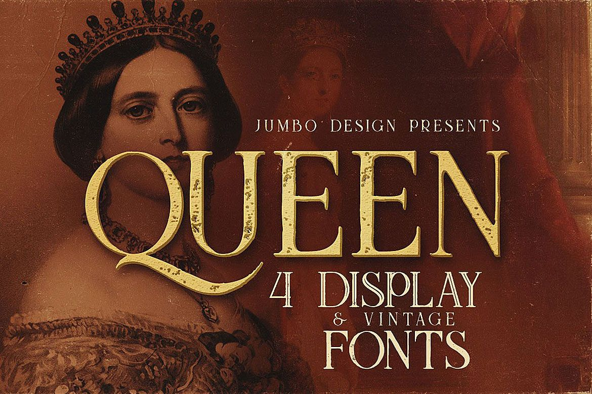 Queen - Display Font example image 1