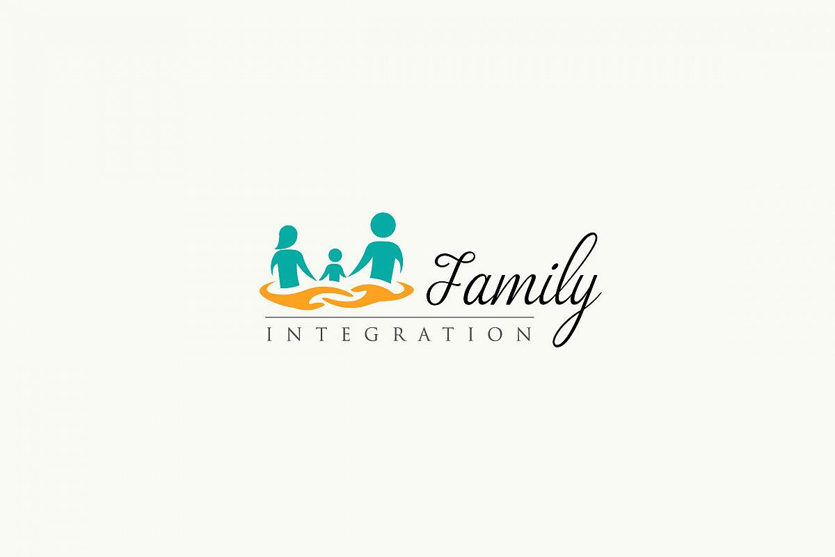 Family Integration - logo Template example image 1