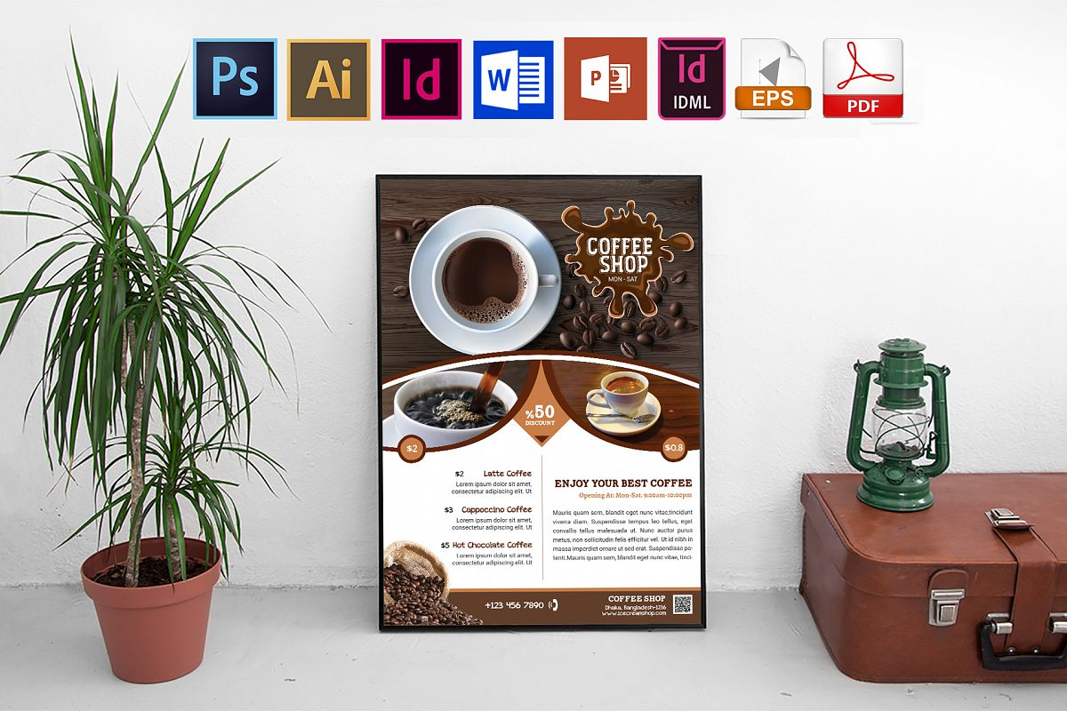 Poster | Coffee Shop Vol-01 example image 1