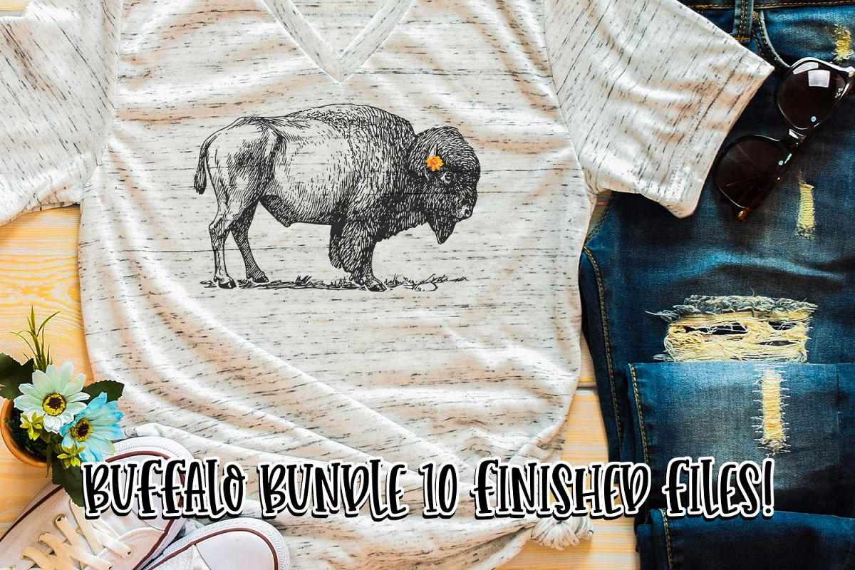 Buffalo Sublimation Bundle example image 1