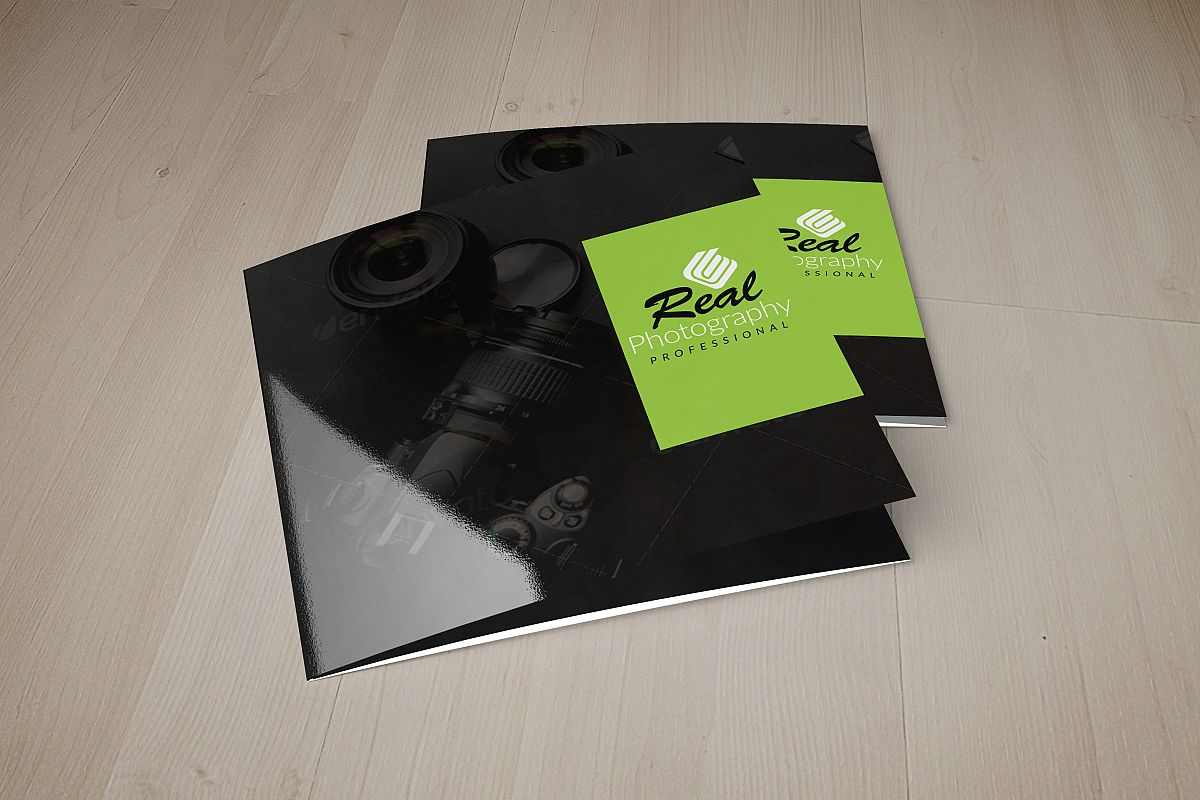 Photography Square Trifold Brochure example image 1