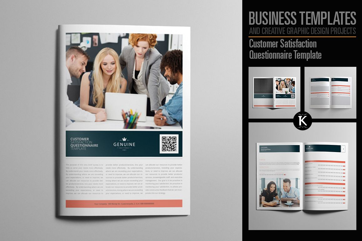 Customer Satisfaction Questionnaire Template example image 1