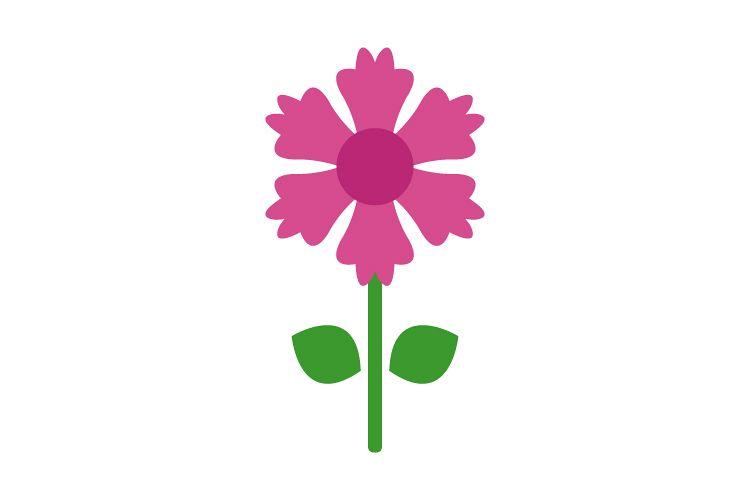 Flower icon example image 1