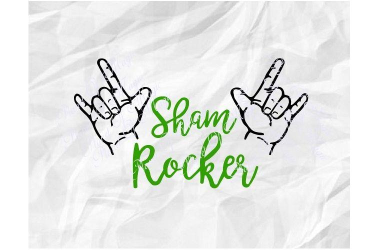 St Patricks Day Svg, Sham Rocker Svg, Irish Svg, St Pattys example image 1