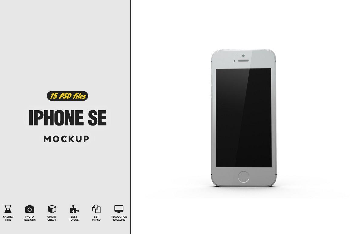 iPhone SE Mockup example image 1