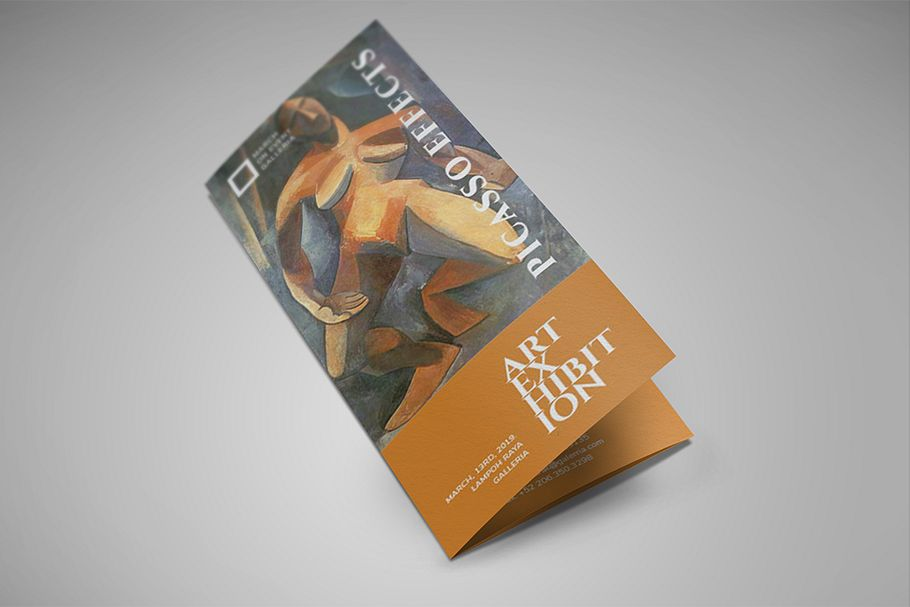 Art Exhibition Brochure example image 1