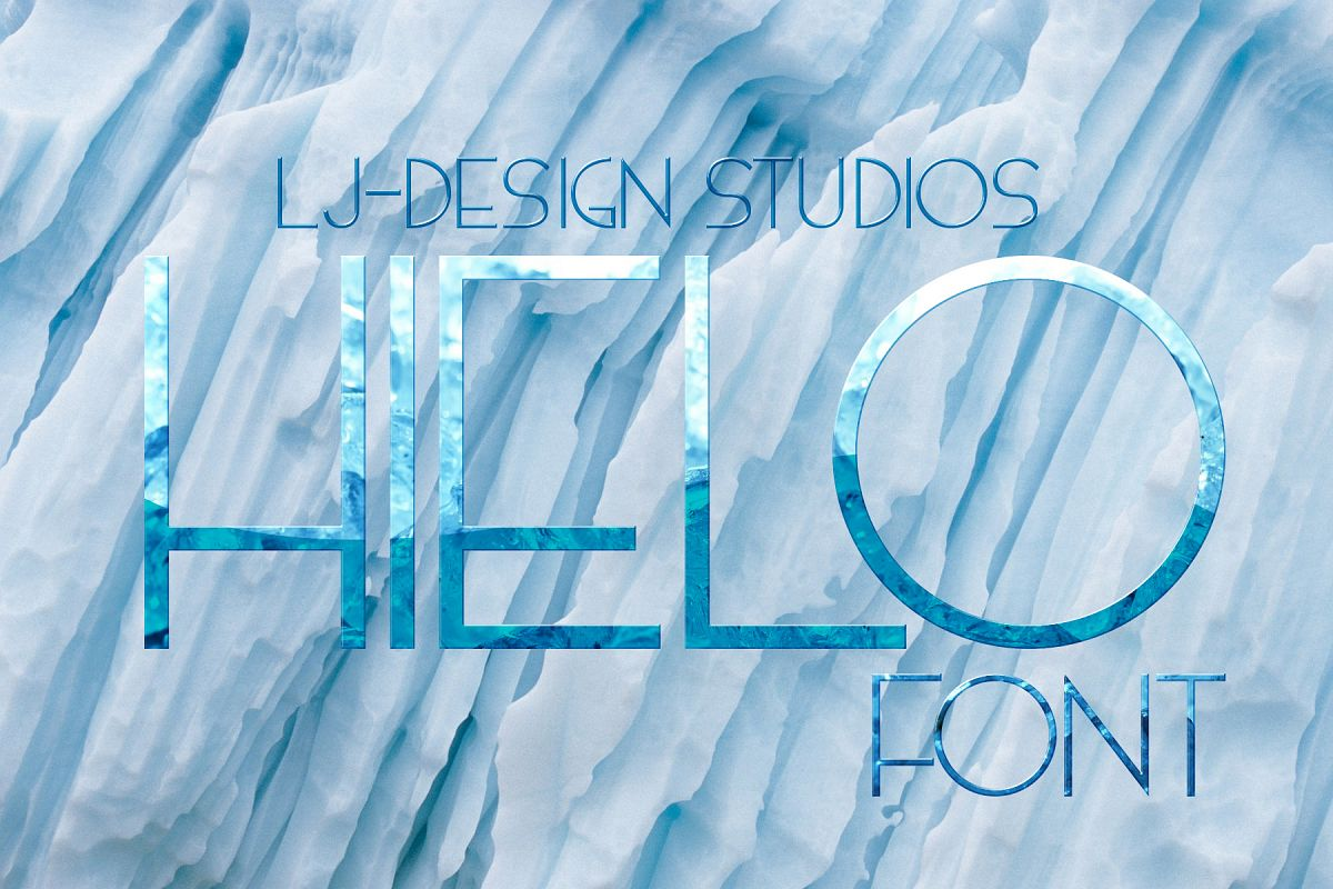 Hielo Fontpack example image 1