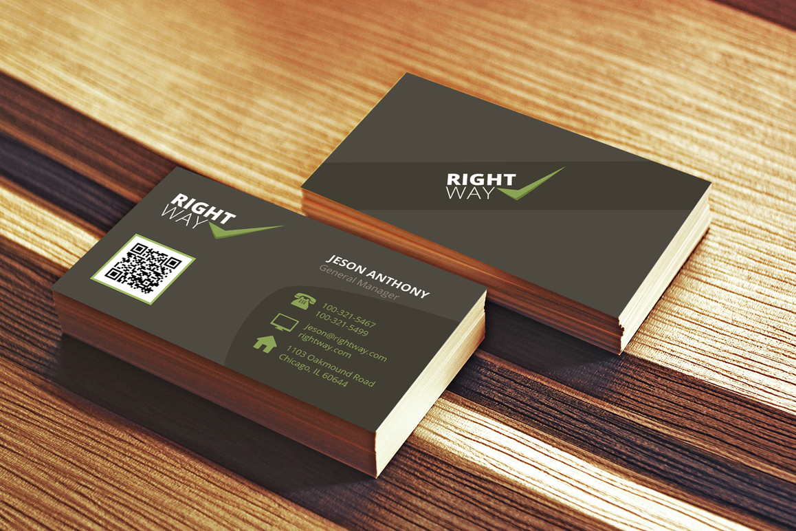 clean creative business card example image 1 - Fancy Business Cards