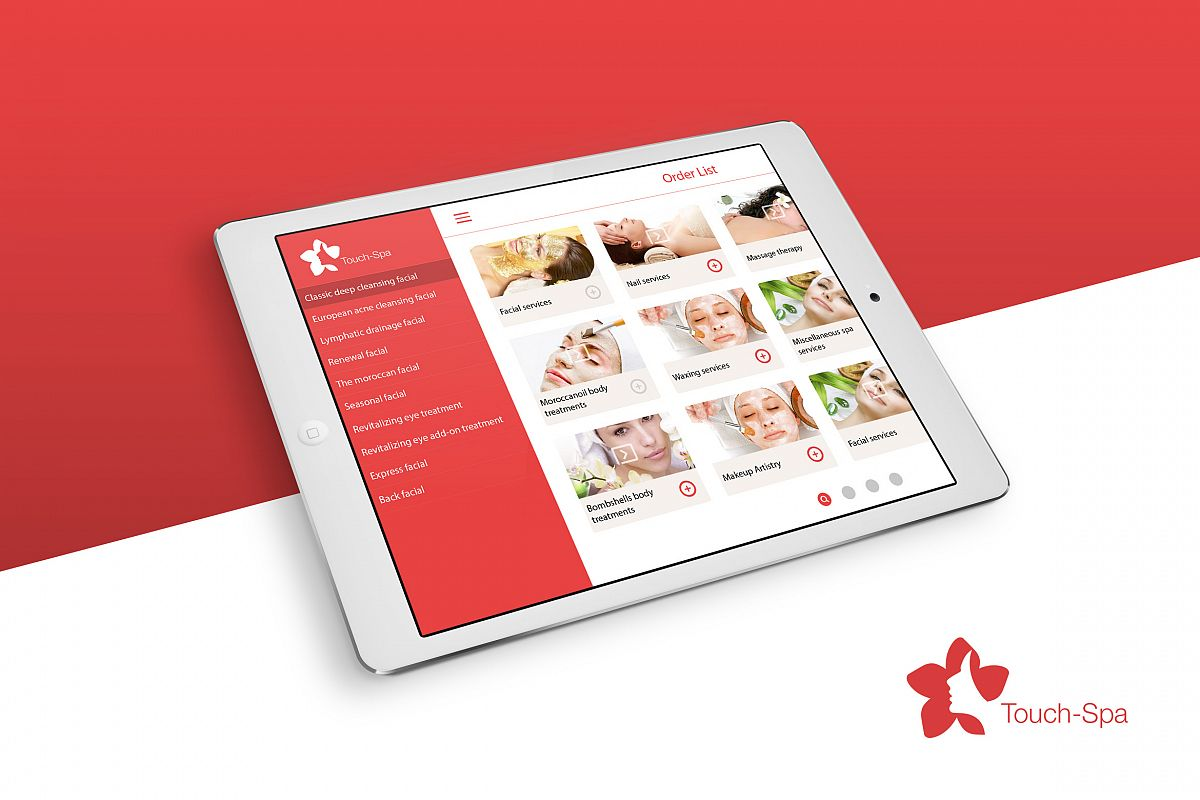 Touch Spa UI Kit example image 1