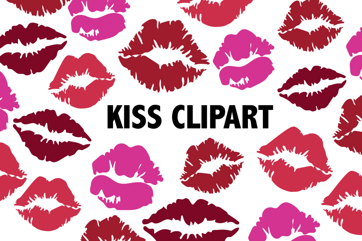 Lipstick Kiss Clipart example image 1