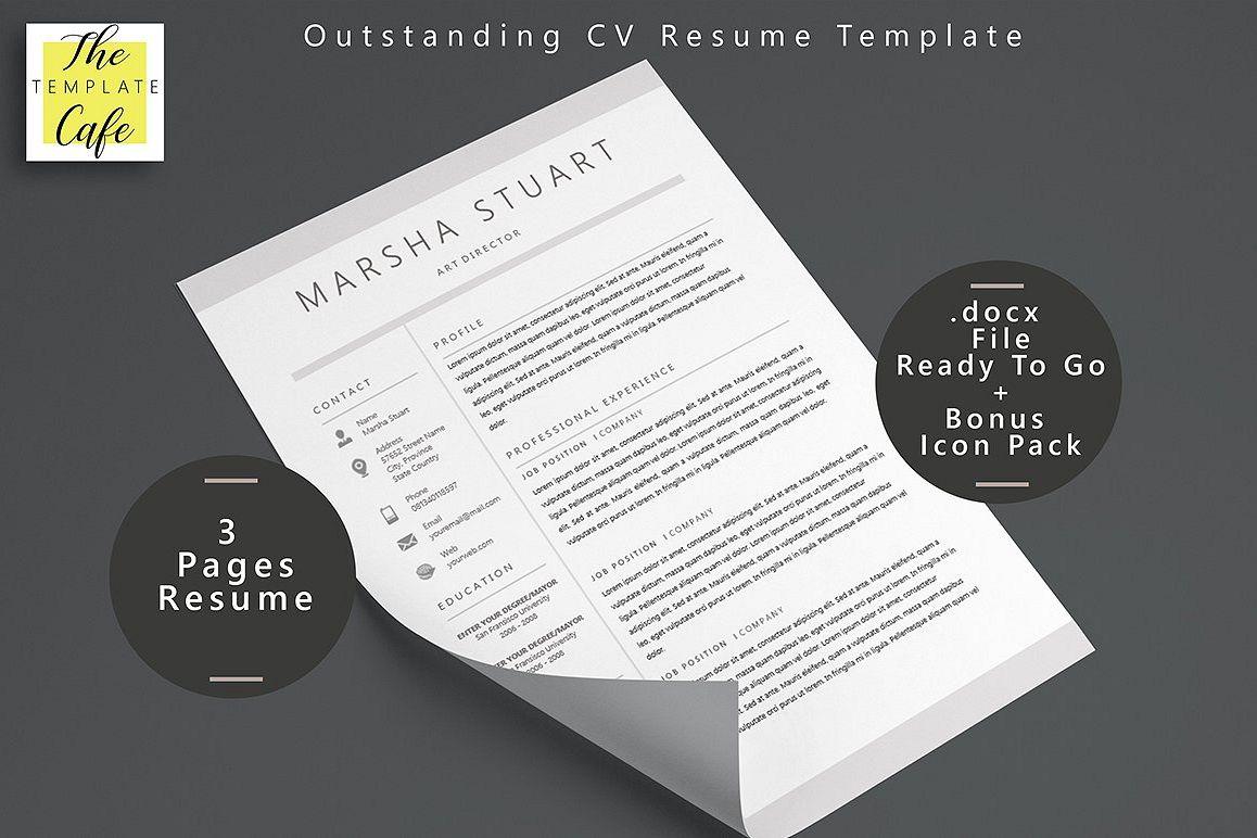 Elegant MS Word Resume